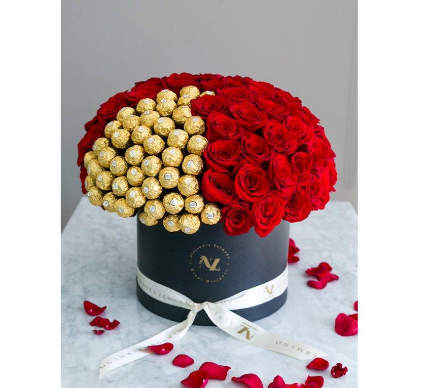 Bloom Box St. Valentine's con chocolates